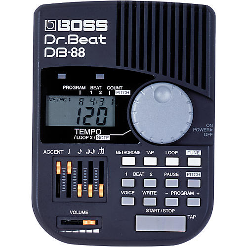 boss db 88 dr beat metronome guitar center. Black Bedroom Furniture Sets. Home Design Ideas