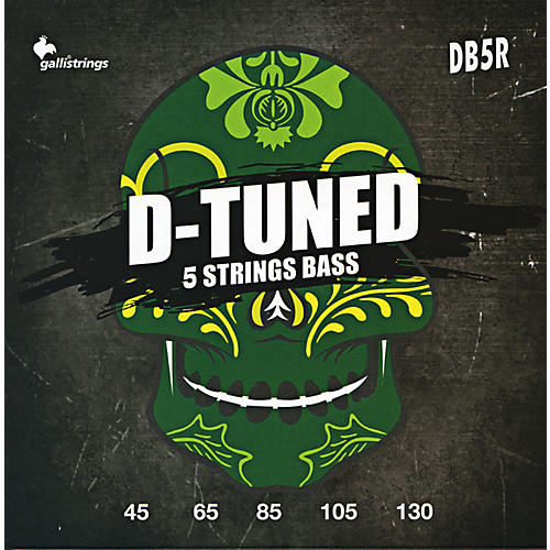 Galli Strings DB5R D-TUNED 5-String Bass Strings 45-130-thumbnail