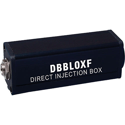 Rapco Horizon DBBLOXF Lo to Hi Z Transformer Direct Box-thumbnail