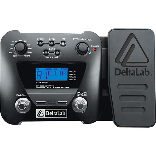 Deltalab DBFX1 Bass Multi Effects Pedal-thumbnail