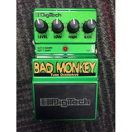 Digitech DBM Bad Monkey Tube Overdrive Effect Pedal-thumbnail