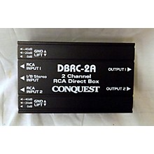 Conquest Sound DBRC2A Direct Box