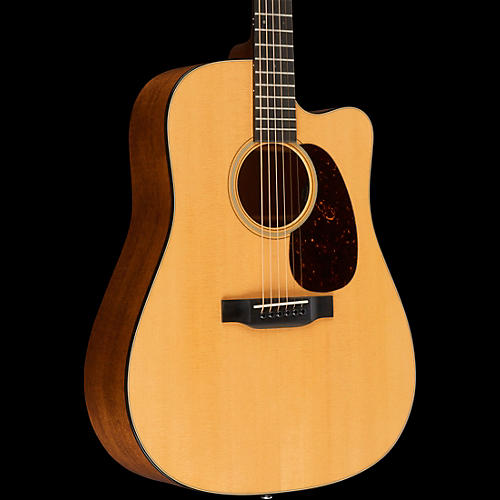 Martin DC-18E Acoustic-Electric Guitar Natural