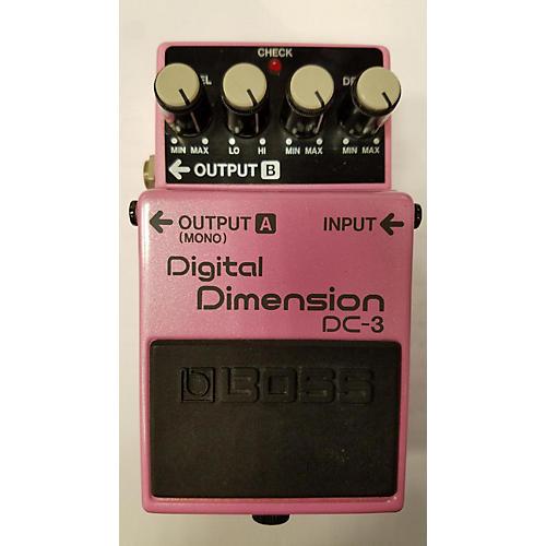 Boss DC3 Digital Dimension Effect Pedal