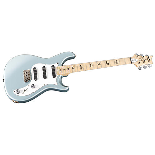PRS DC3 with Bird Inlays Electric Guitar Frost Blue Metallic Maple Fretboard
