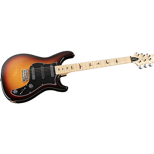 PRS DC3 with Bird Inlays Electric Guitar Tri-Color Burst Maple Fretboard