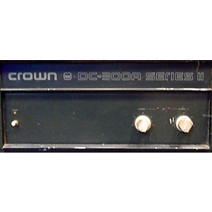 Pre-owned Crown DC300A II Power Amp by Crown