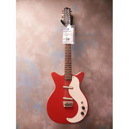 Danelectro DC59 12 String Solid Body Electric Guitar-thumbnail