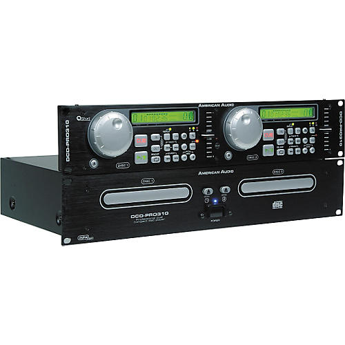 American Audio DCD-PRO310 Professional Dual CD Player
