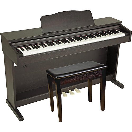 M-Audio DCP-200 Digital Console Piano w Bench-thumbnail