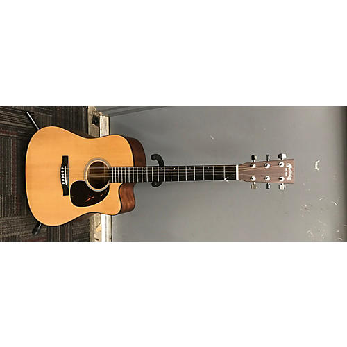 Martin DCPA4 Acoustic Electric Guitar Natural