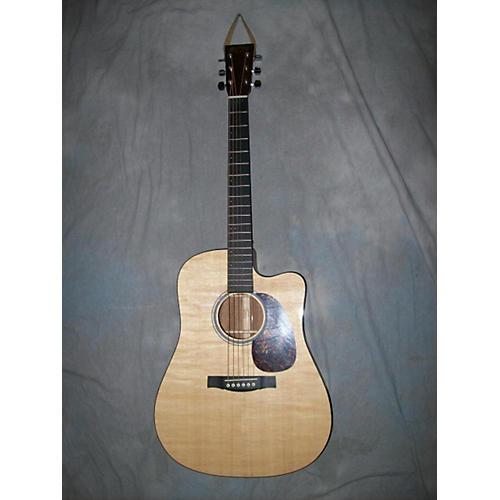 Martin DCPA4 Natural Acoustic Electric Guitar-thumbnail