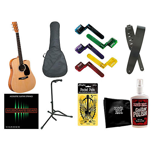 Martin DCPA5K Performing Artist Series Acoustic-Electric Guitar Bundle