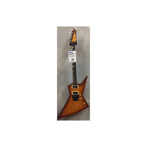 Dean DCR Custom Run Dave Mustaine Zero Solid Body Electric Guitar Trans Amber