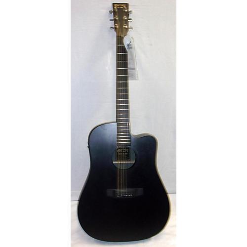 used martin dcx1e acoustic electric guitar black guitar center. Black Bedroom Furniture Sets. Home Design Ideas