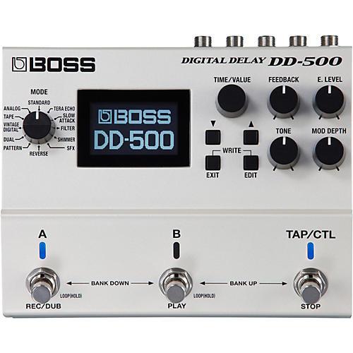 Boss DD-500 Digital Delay Guitar Effects Pedal-thumbnail