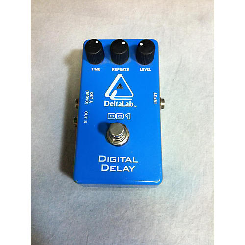 Deltalab DD1 Digital Delay Effect Pedal-thumbnail