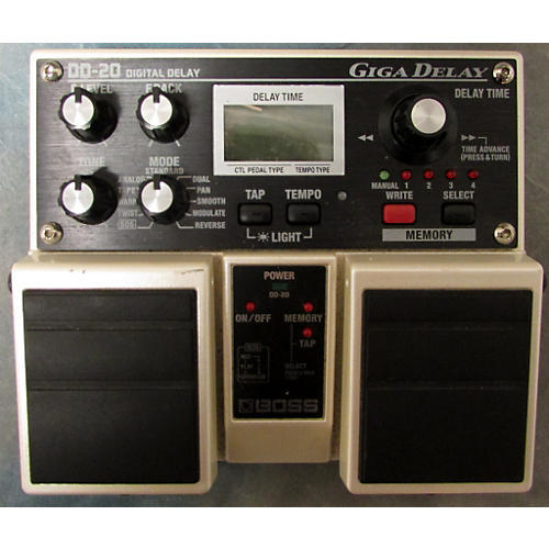 Boss DD20 Giga Delay Effect Pedal-thumbnail