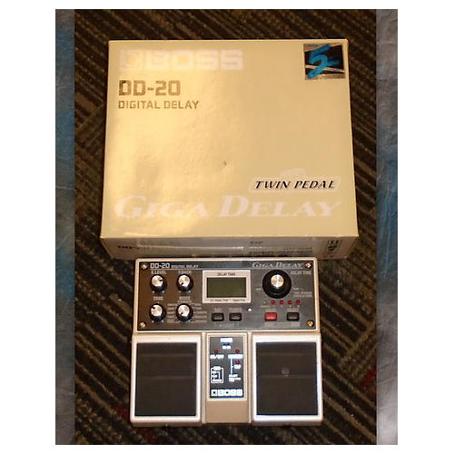 Boss DD20 Giga Delay Effect Pedal