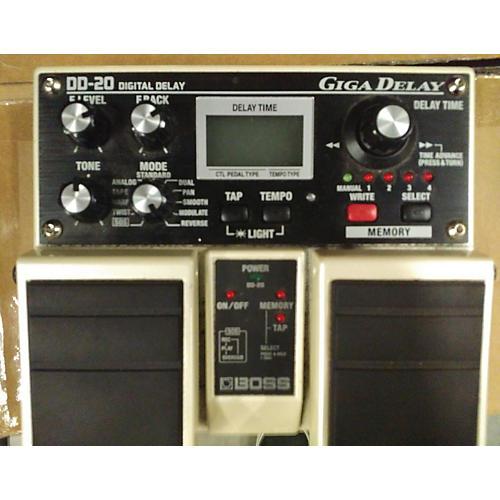 Boss DD20 Giga Delay Effect Pedal