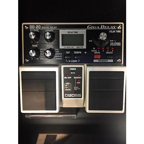 Boss DD20 Giga Delay Effect Pedal-thumbnail