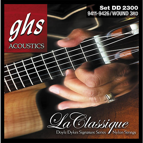 GHS DD2300 Doyle Dykes Signature Classical Guitar Strings