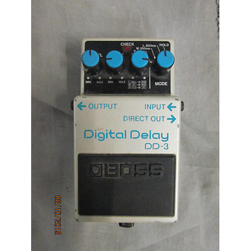 Boss DD3 Digital Delay Alpine White Effect Pedal