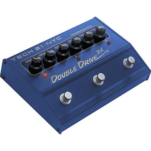 Tech 21 DD3X Double Drive 3X Distortion Pedal-thumbnail