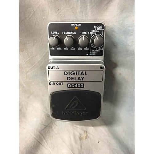 Behringer DD400 Digital Delay Effect Pedal-thumbnail