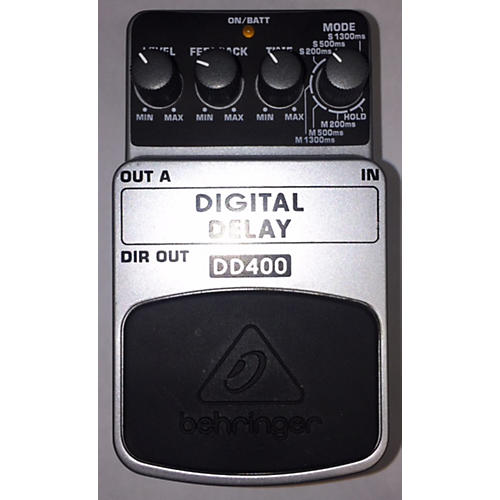 Behringer DD400 Digital Delay Effect Pedal-thumbnail