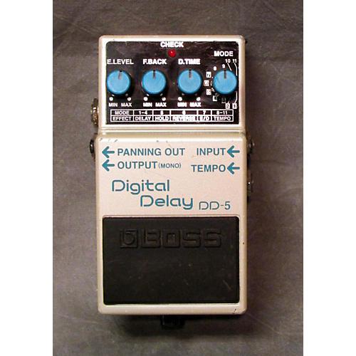 Boss DD5 Digital Delay ELEC PEDAL-E VOLUME