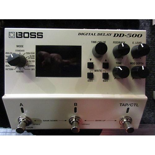Boss DD500 DIGITAL DELAY Effect Pedal