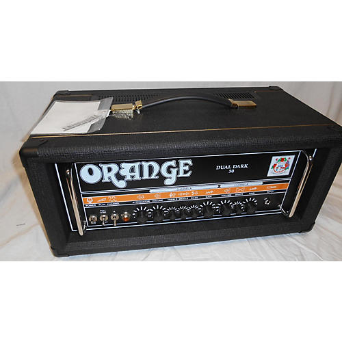 used orange amplifiers dd50h dual dark 50 tube guitar amp head guitar center. Black Bedroom Furniture Sets. Home Design Ideas
