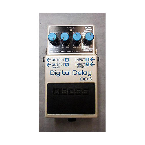 Boss DD6 Digital Delay Effect Pedal