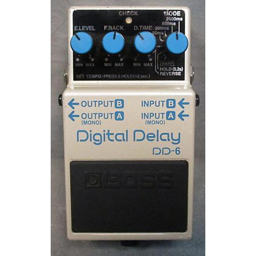 Boss DD6 Digital Delay Effect Pedal-thumbnail