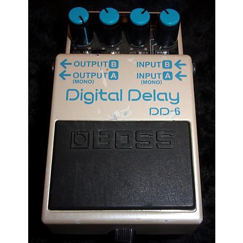 Boss DD6 Digital Delay Effect Pedal