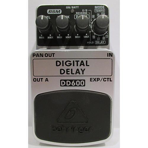 Behringer DD600 Digital Delay Effect Pedal