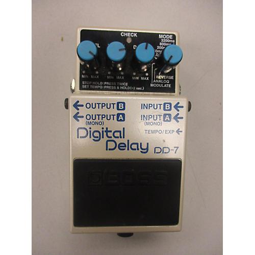 Boss DD7 Digital Delay Effect Pedal-thumbnail