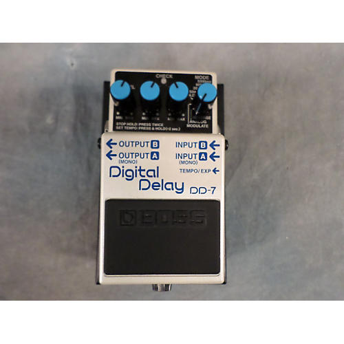 Boss DD7 Digital Delay Effect Pedal