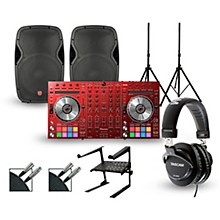 Pioneer DDJ-SX2 Red Edition with Harbinger V1015 DJ Package