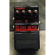 Digitech DDM Death Metal Distortion Effect Pedal