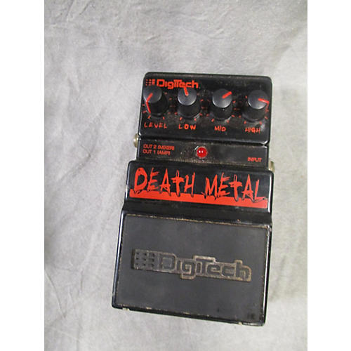 used digitech ddm death metal distortion effect pedal guitar center. Black Bedroom Furniture Sets. Home Design Ideas