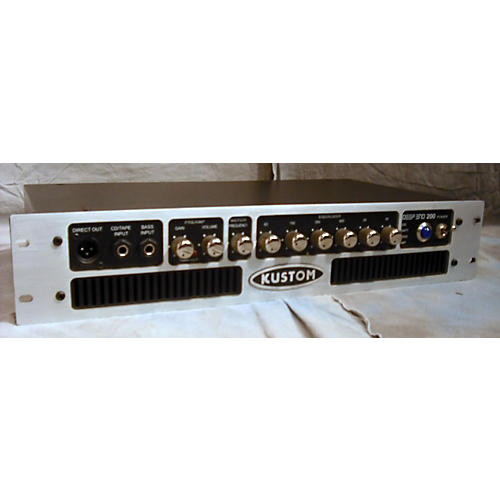 Kustom DE200HD 200w Bass Amp Head