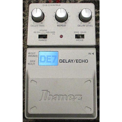 Ibanez DE7 Delay/Echo Effect Pedal-thumbnail