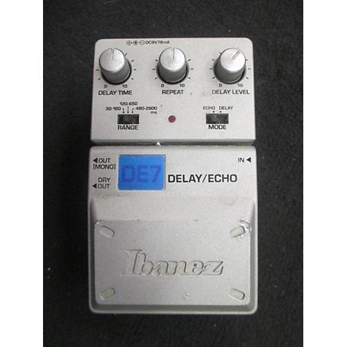 Ibanez DE7 Delay/Echo Effect Pedal