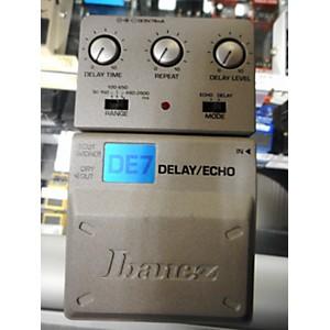 Pre-owned Ibanez DE7 Delay/Echo Pedal Effect Pedal