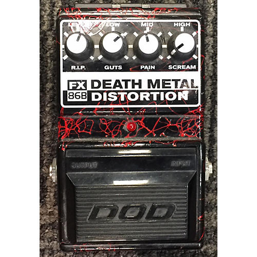 DOD DEATH METAL DISTORTION Effect Pedal-thumbnail