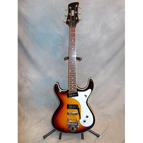 Eastwood DELUXE SIDE JACK Solid Body Electric Guitar-thumbnail