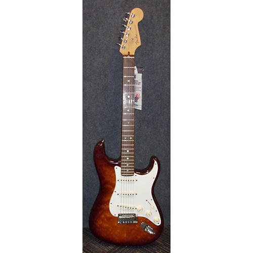 Fender DESIGN SERIES AMERICAN DELUXE STRAT Solid Body Electric Guitar Brown Sunburst
