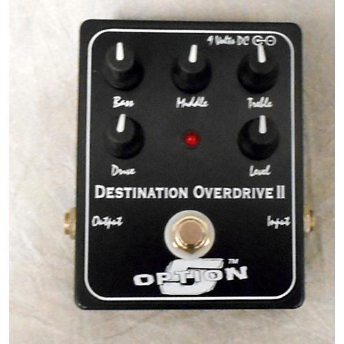 Option 5 DESTINATION OVERDRIVE II Effect Pedal-thumbnail